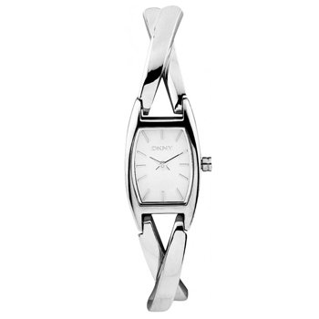 Womens DKNY Silver Twist Watch