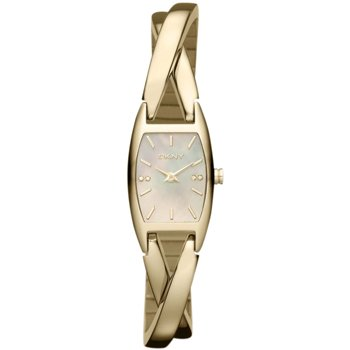 Womens DKNY Gold Twist Watch